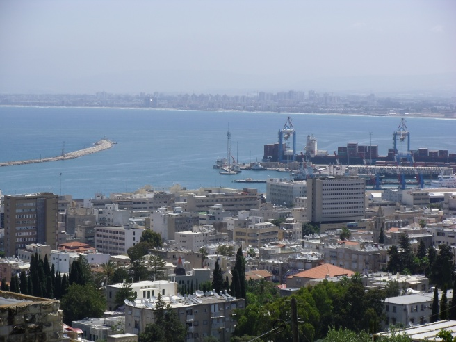 Haifa, northern Israel, with a large Palestinian population. Photo by TC for UDL