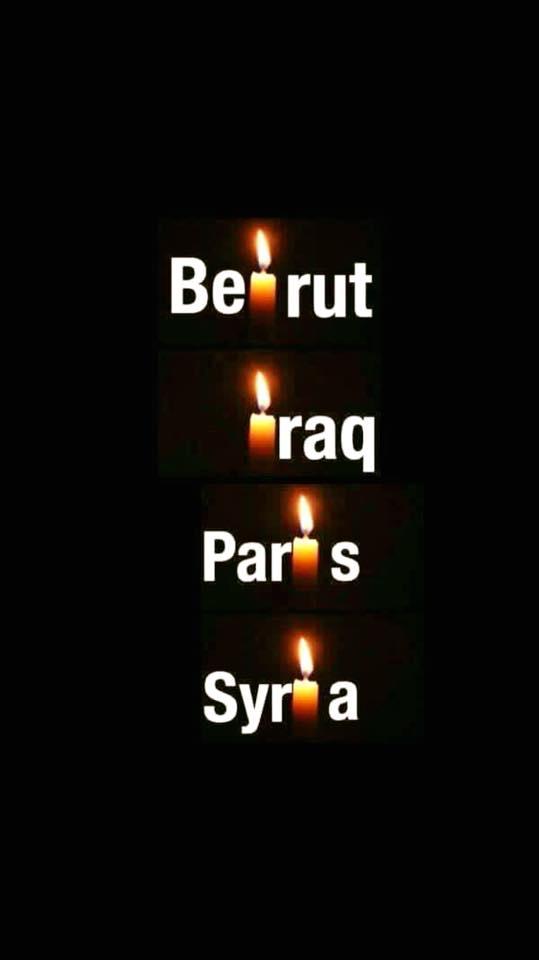 Beirut Iraq Paris Syria